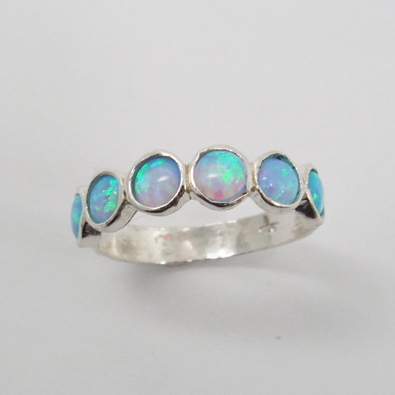 Opal sterling silver ring (sr-9531). birthday gift for her, romantic gift ideas, opal jewelry, bohochic jewelry